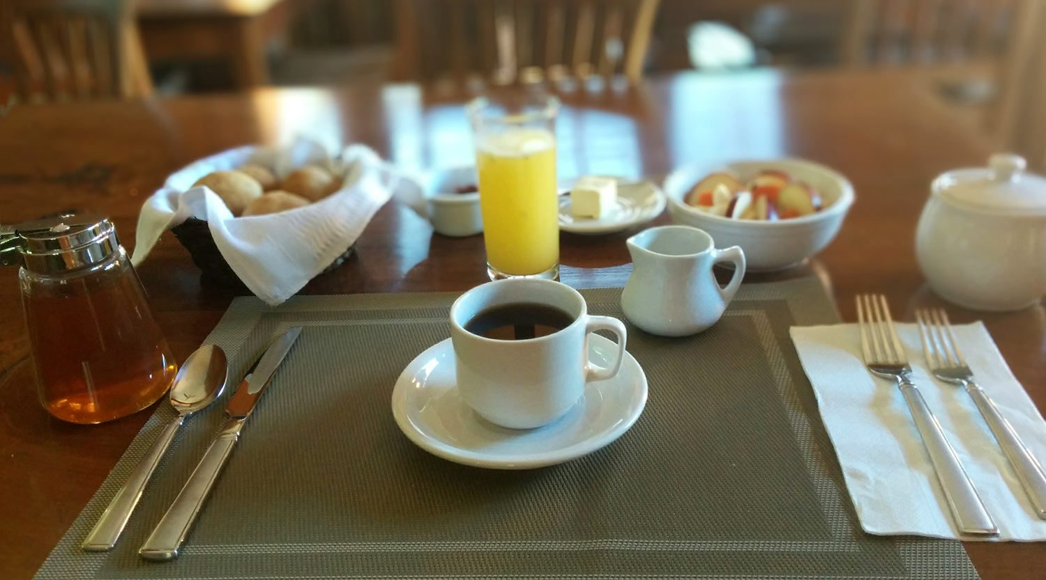 Breakfast at Hotel Casa San Pancho